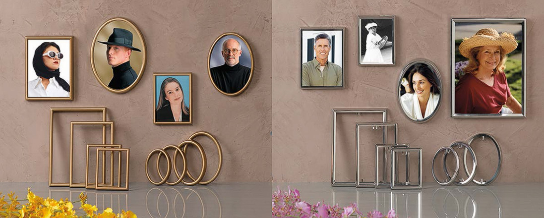 bronze memorial picture frames